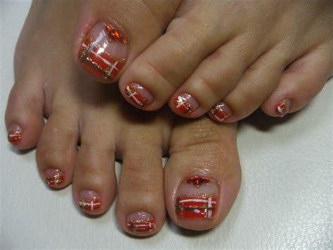 Gel Pedicure by 35 Winter Toe Nail Designs Nail Design Ideaz