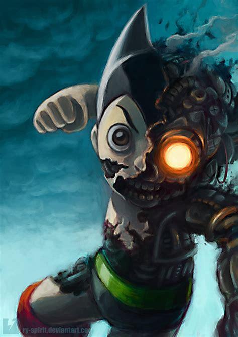 film with robot boy astroboy s intense battle by ry spirit on deviantart
