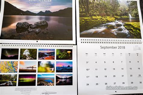 Calendar 2018 Tasmania 2018 Calendar Now Available Luke O Brien Photography