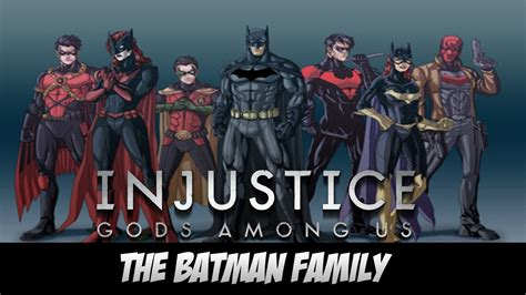 batman a in the family injustice gods among us batman family