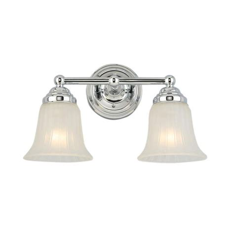 hton bay lighting hton bay bathroom light fixtures chrome chrome and clear