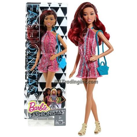 star doll house games barbie fashionistas 12 quot doll grace cln63 in pink neck strap jumpsuit with earrings