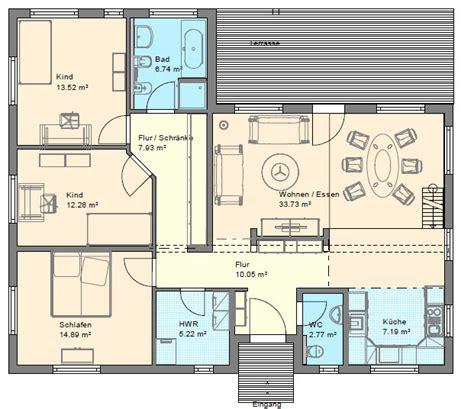 Grundrissplaner winkelbungalow mit hems und satteldach d 228 nisches