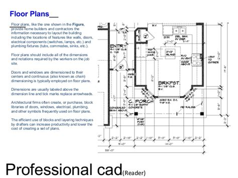 Draw Floor Plan To Scale professional autocad