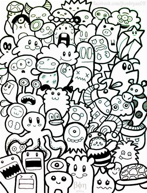 doodle seram riza maulidan apa itu doodle