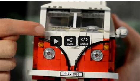 lego volkswagen inside bbt nv 187 lego vw
