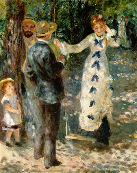 the swing renoir the swing auguste renoir as print or