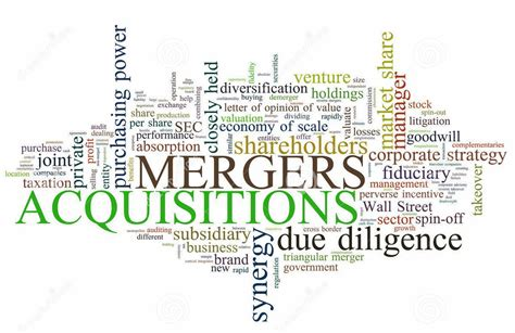 Mergers And Acquisitions mergers