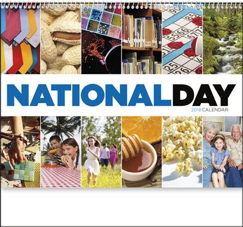 Calendar 2018 National Days 2018 National Day Spiral Calendar 11 Quot X 19 Quot Imprinted