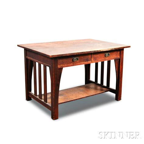 Stickley Brandt Arts And Crafts Desk Sale Number 2881t Stickley Desk