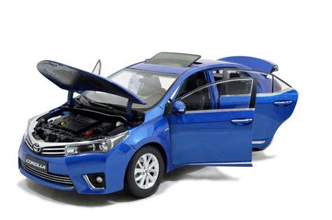toyota model car toyota corolla 2014 1 18 scale diecast model car wholesale