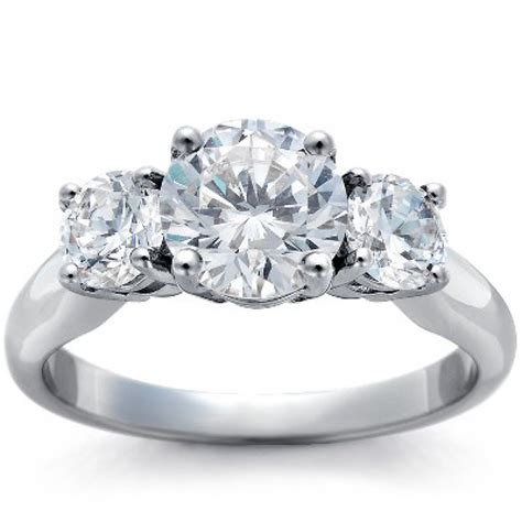 3 engagement ring setting cheap