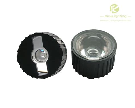 led len 20mm 45 90 120 degree led lens with holder for 1w 3w 5w