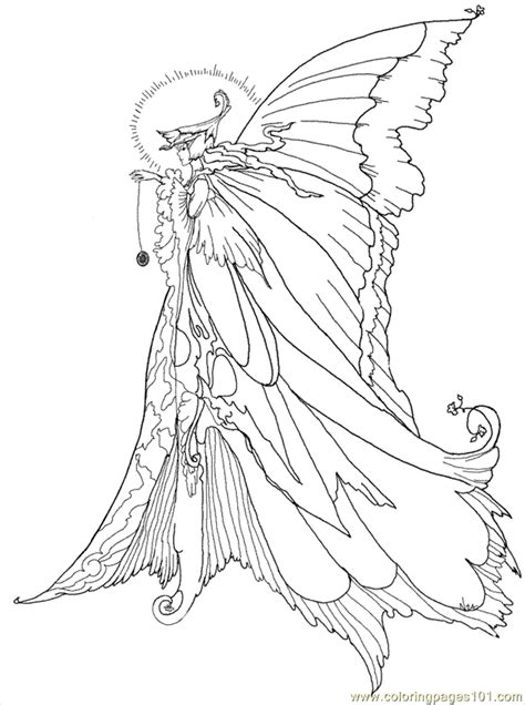 free fairy coloring pages to print coloring home