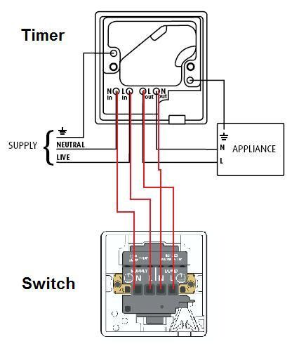 immersion heater timer switch wiring diagram tank