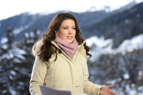 exklusiv davos   cnn moderatorin julia chatterley