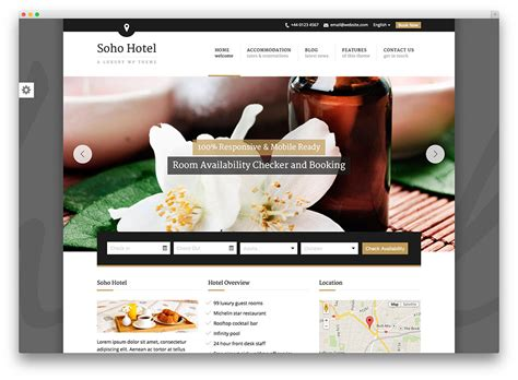 wordpress themes hotel free download 30 best hotel apartment vacation home booking