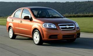 Www Chevrolet Aveo Car And Driver