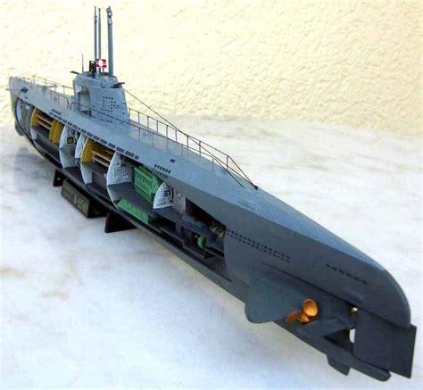 u boat submarine cutaway kit from revell megamag 2 - U Boat Kit