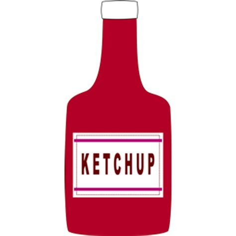 ketchup clipart ketchup bottle clipart cliparts of ketchup bottle free