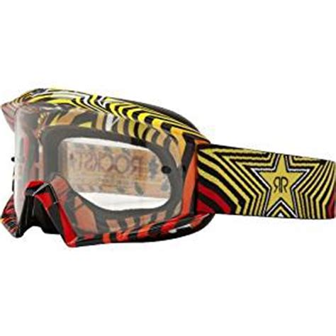 rockstar motocross goggles fox rockstar 360 motocross goggles ns amazon co uk