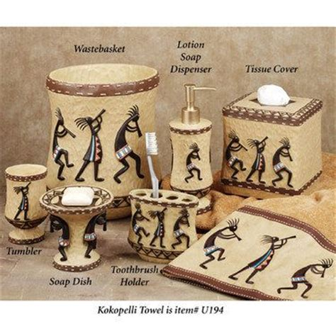 Kokopelli Bathroom Accessories 78 Images About Indian N Western Decor Ideas On Southwestern Tapestries Pottery