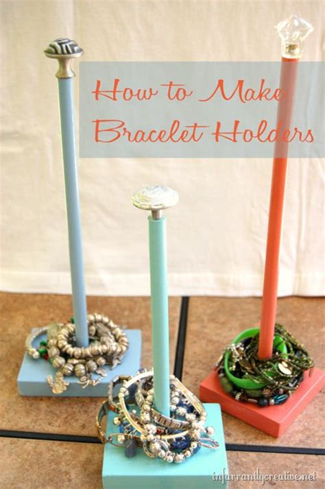 how to make your own jewelry holder best 25 bracelet holders ideas on diy
