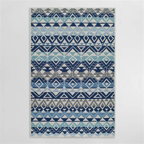 World Market Outdoor Rugs Blue Andersons Indoor Outdoor Area Rug World Market
