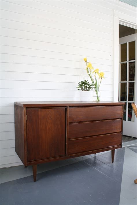 Mid Century Modern Sideboard Vintage Teak Robert Heritage Mid Century Modern Furniture Restoration