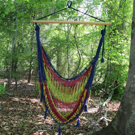 traditional mayan hammock chair starburst multicolor