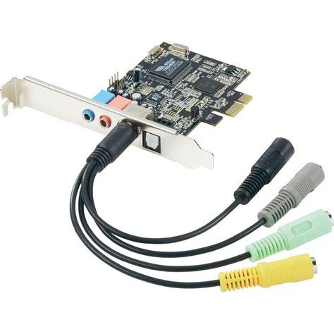 scheda audio interna scheda audio interna 7 1 pcie x1 uscita digitale