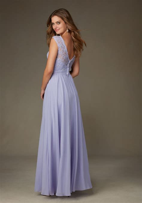 beaded chiffon bridesmaid dresses beaded lace with chiffon morilee bridesmaid dress style
