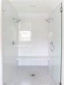 White Subway Tile Bathroom » Home Design 2017