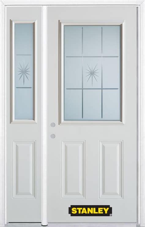 Stanley Doors 48 Inch X 82 Inch Beaujolais 1 2 Lite 2 48 Doors Exterior