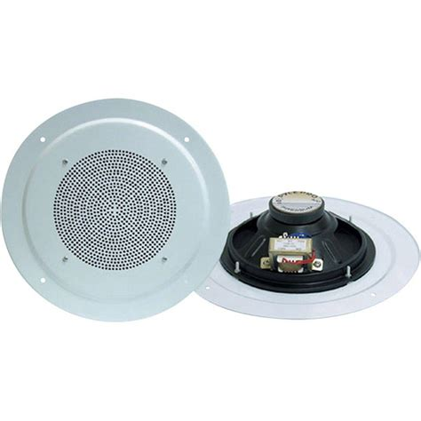 pyle range 8 in 200 watt 2 way in ceiling speaker pd