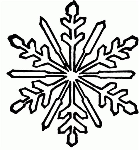 coloring page of a snowflake printable snowflake coloring pages coloring home