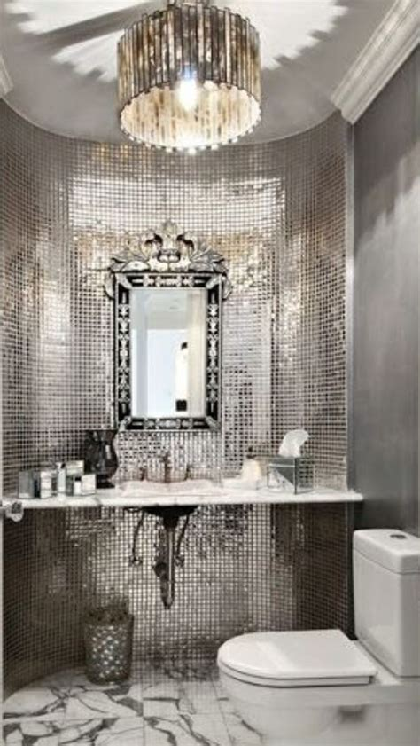 luxury silver bathroom luxurydotcom my top pins1���
