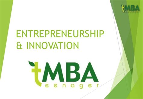 Mba In Innovation And Entrepreneurship Scope by Entrepreneurship Innovation Chapter1