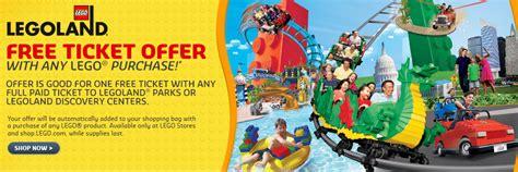 discount vouchers legoland free legoland ticket voucher buy 1 get 1 free