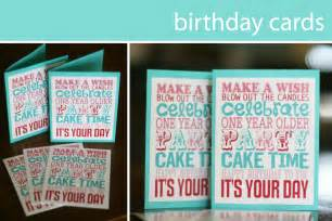 free printable birthday printable decor