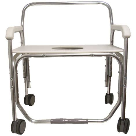 bariatric shower bench seats convaquip bariatric transport shower chair with bench seat