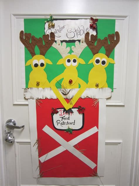 christmas door decorations ideas for the front and