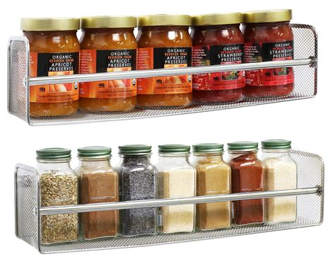 Stainless Steel Kitchen Canister choosing spice racks for sale