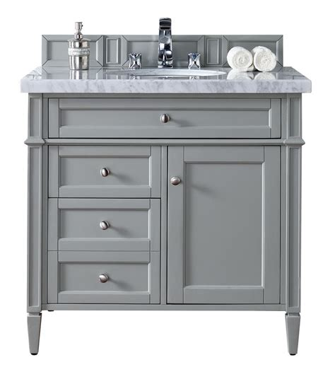 36 quot single bathroom vanity gray gray