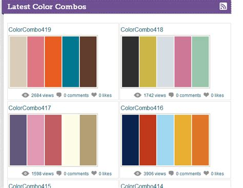 amazing color combinations 5 websites for amazing color palettes