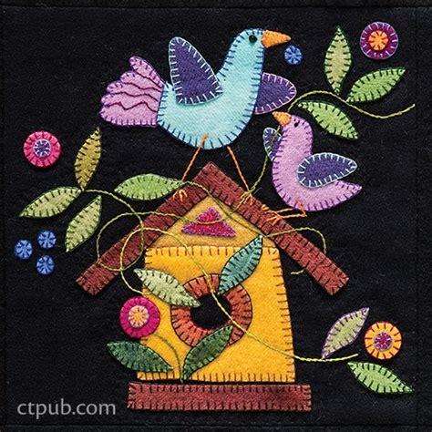 felt applique patterns 98 best wool projects images on felt applique