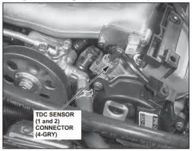 p1362 honda top dead center sensor 1 no signal