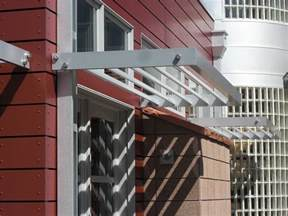 Exterior Window Coverings Awnings Aluminum Sunshades Sunscreens Sun Control Devices
