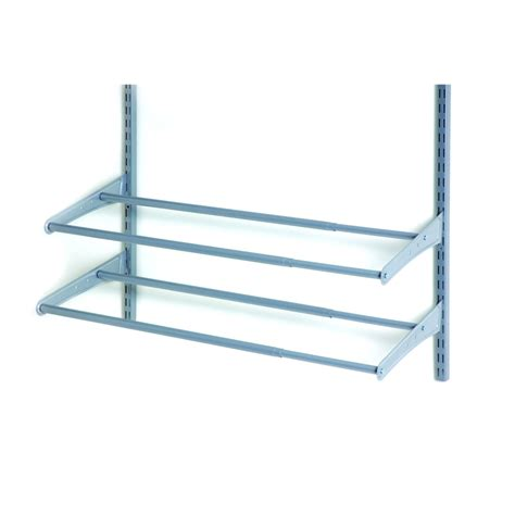 closetmaid wire shelving shop closetmaid 41 7 8 in wire wall mounted shelving at lowes