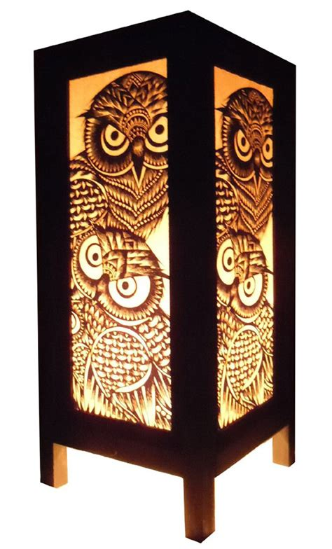 Bring lovely hooters home with thai vintage handmade asian oriental handcraft night owl bird